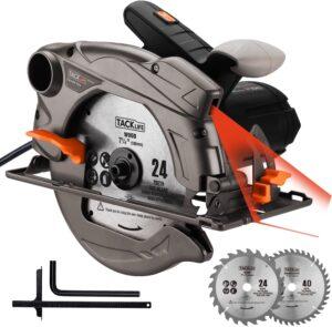 tacklife-pes01a-circular saw-lightweight-aluminum-guard-applicable-for-cutting-wood-tile