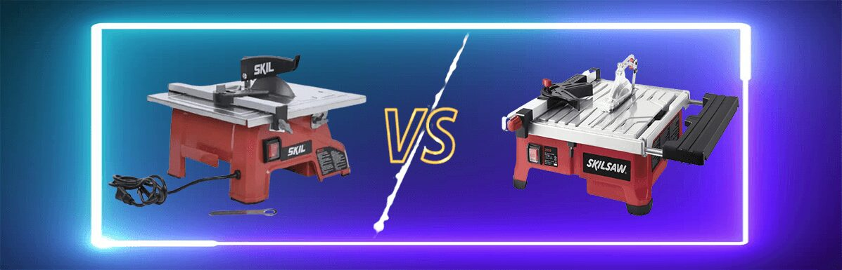 SKIL 3540-02 Vs 3550-02 7-Inch Wet Tile Saw Review [Compersion Guide]